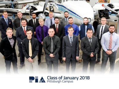 PIA Pittsburgh Campus Graduation-January 2018