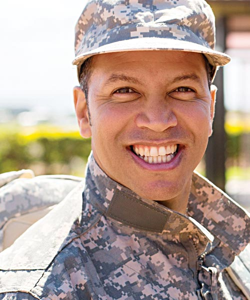Veteran student