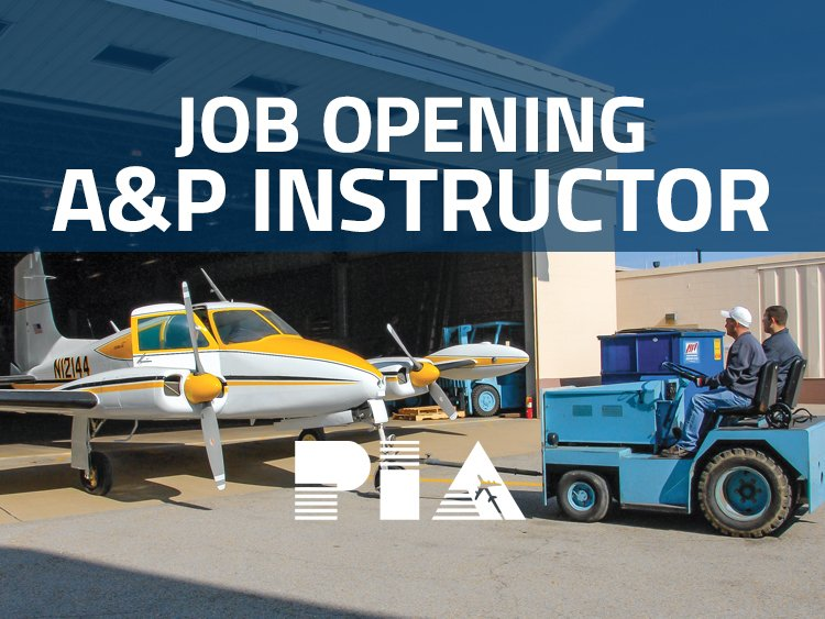PIA Pittsburgh Hiring A&P Instructor