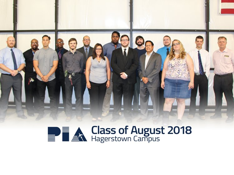Hagerstown August 2018 Graduation - PIA: Hagerstown