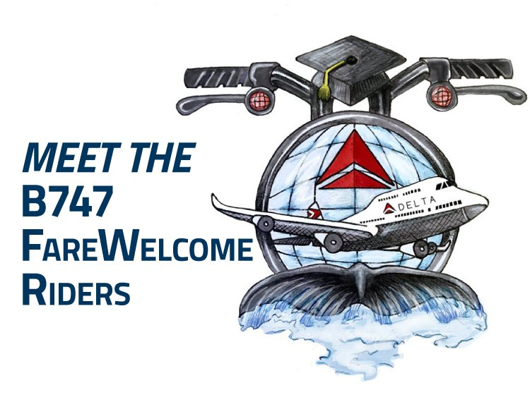 B747 FareWelcome Riders to Visit Myrtle Beach Campus
