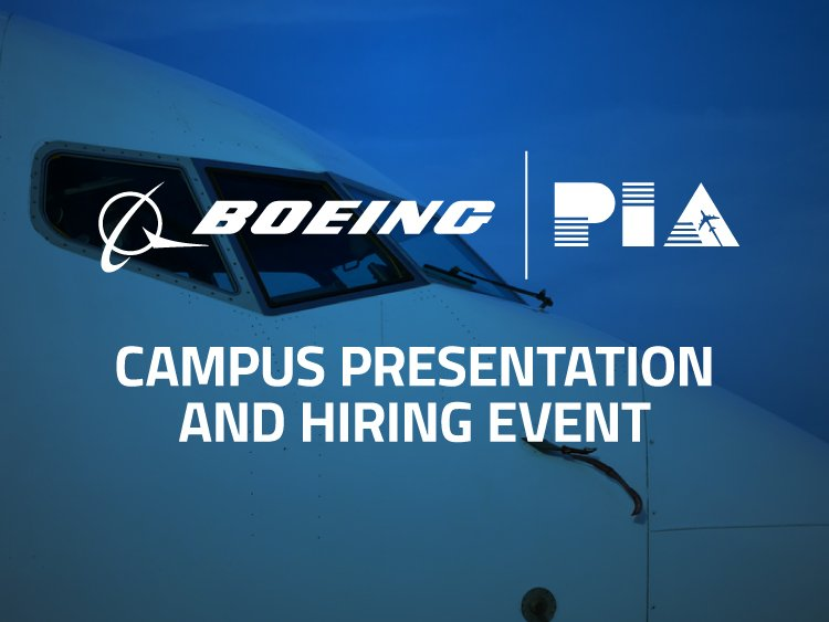 Boeing Campus Visit at PIA Hagerstown