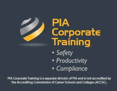 PIA Corporate Training Logo