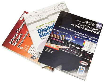 Airframe and Powerplant Textbooks