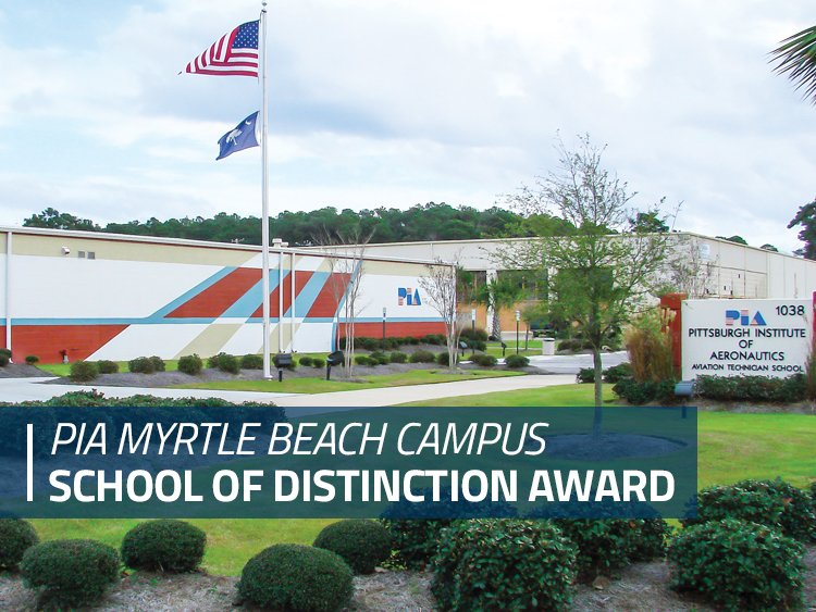 ACCSC Recognizes PIA Myrtle Beach as a School of Distinction